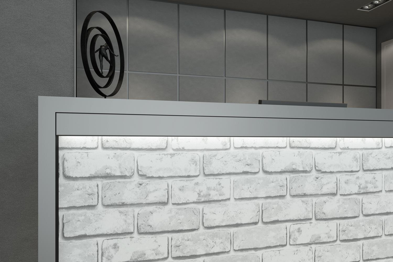 Pellicole effetto pietra artesive serie stone st 04 for Mattoni finti per interni