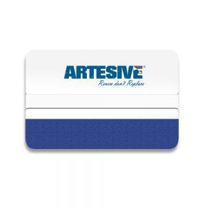 Artesive White – Spatola Rigida con feltro per applicazione pellicola