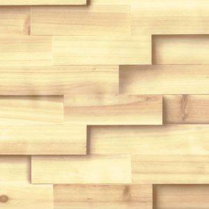 Artesive Tech Serie – TEC-010 3D-Paneel Helles Holz