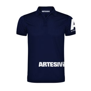 Polo Artesive Tecno Blue – Original T-shirt in technical fabric for adults