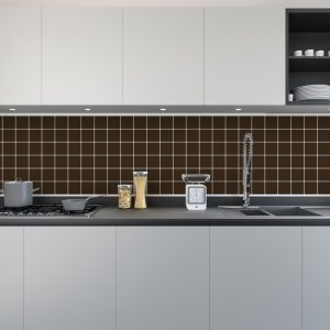 Artesive Tily MA-035 Dark Brown – Self Adhesive Film for Tiles