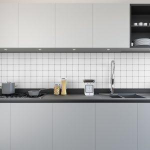 Artesive Tily MA-036 White Grey Matt – Self Adhesive Film for Tiles