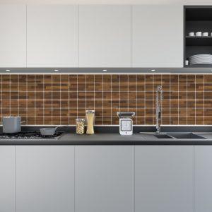 Artesive Tily TEC-019 Shabby Fire Strips – Zelfklevende Folie voor Tegels