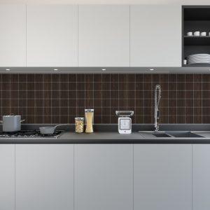 Artesive Tily WD-030 Donkere Wengé – Zelfklevende Folie voor Tegels